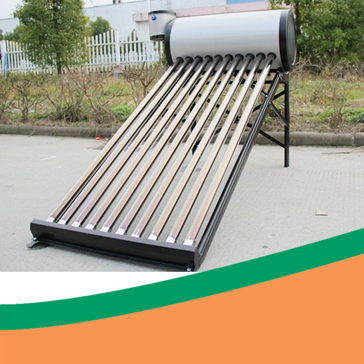 Color Steel Solar Thermal System With Assistant Tank Low Pressure Solar Water Heater