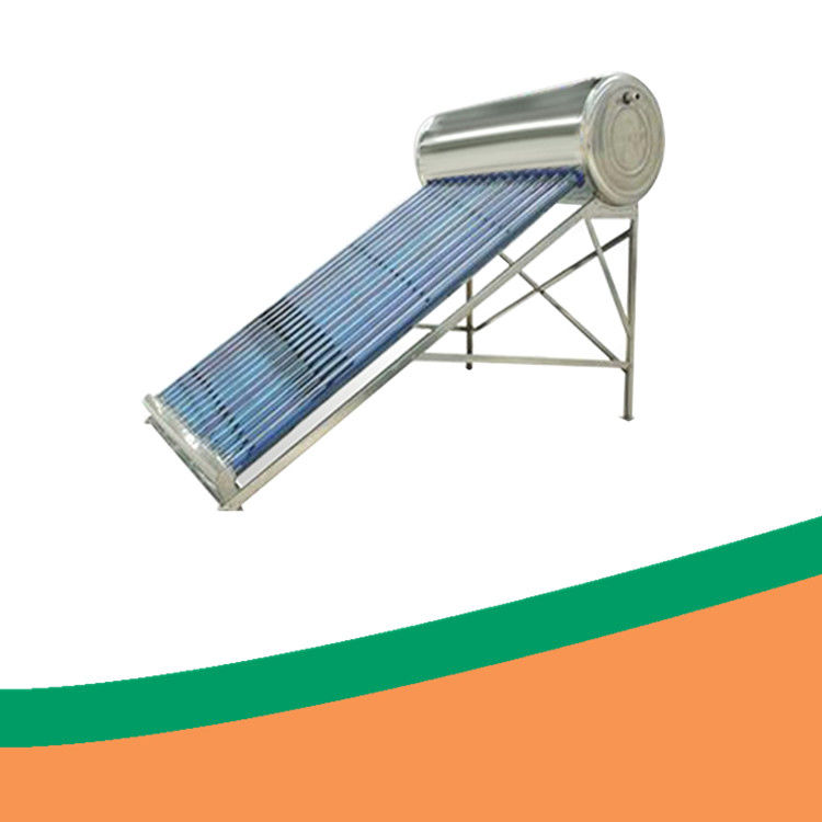 ISO INMETRO Unpressurized Evacuated Tube Solar Water Heater