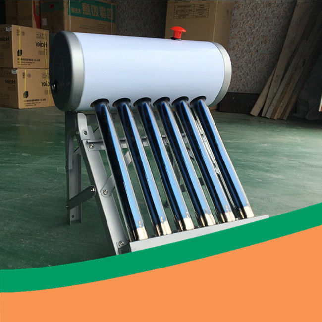 Exhibition use small DIY solar water heater low pressure solar water heater