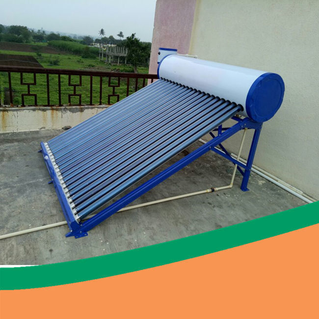 Freestanding 150L Stainless Steel Compact Solar Hot Water Heater