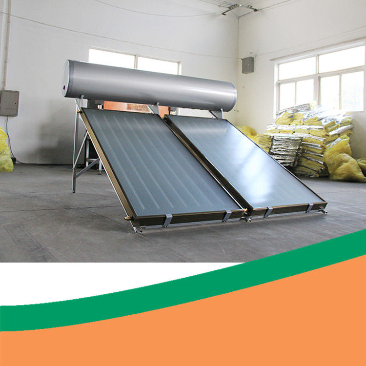 Hot Water Solar Geyser Flat Panel ISO Flat Plate Solar Collector