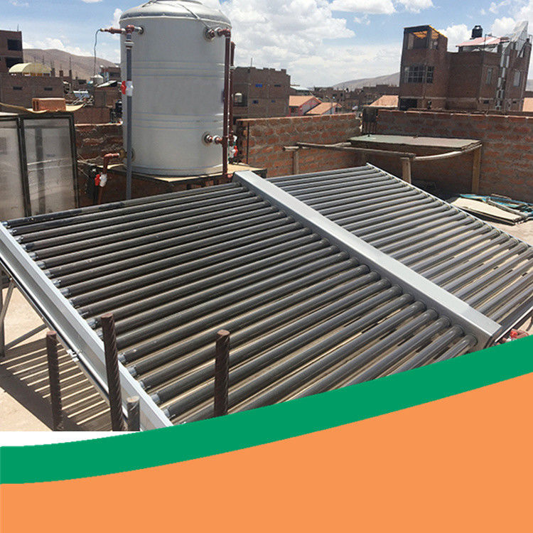 Sun Energy 5000L SUS304 Solar Water Heater Project For Hotel